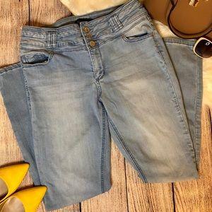 Blue Spice Sz 11 Skinny Jeans